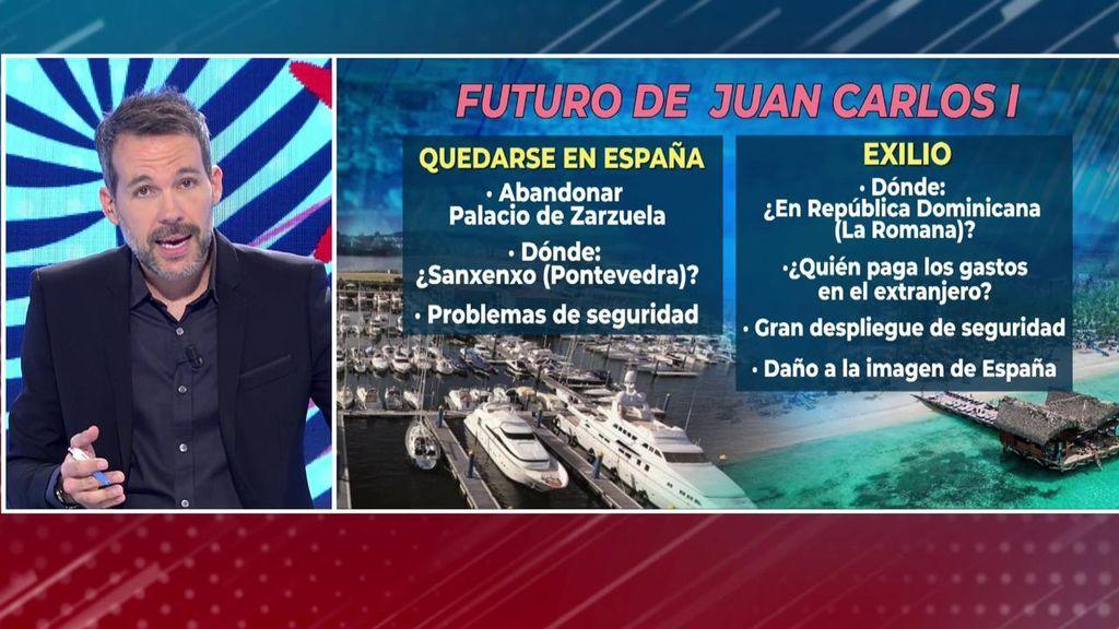 El futuro de Juan Carlos I: quedarse en España o en el exilio
