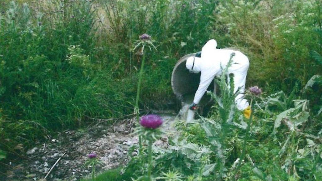 El Seprona encuentra coronavirus en un vertido ilegal de aguas residuales al río Manzanares en Getafe