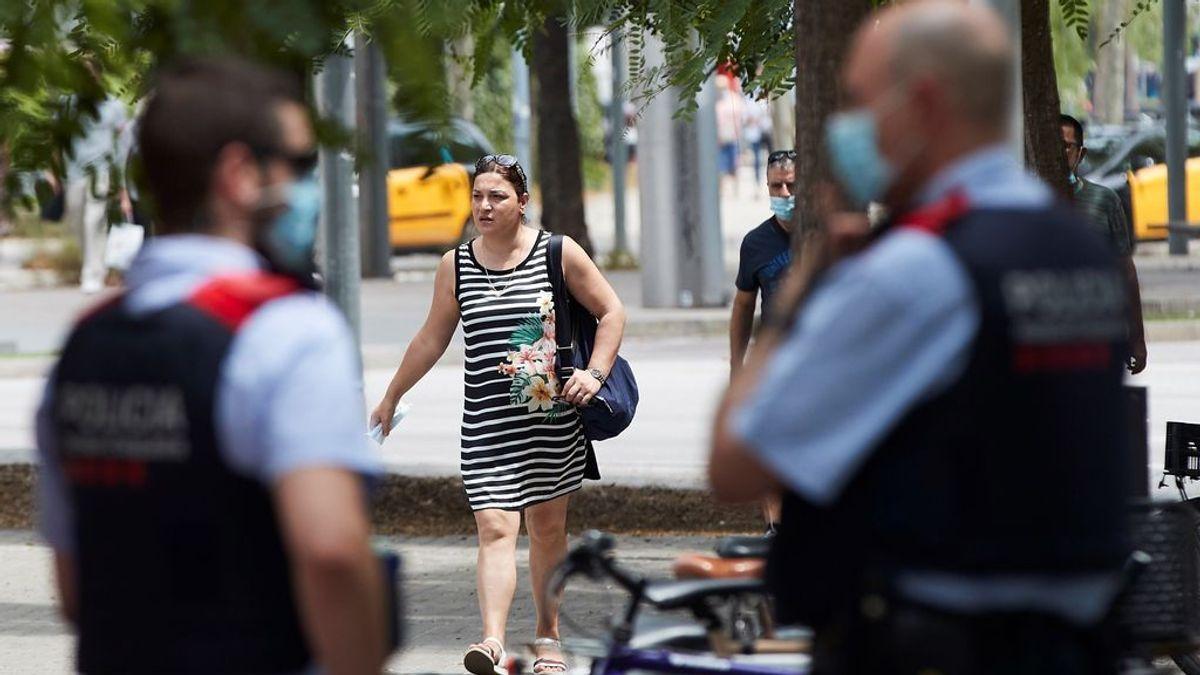 Los contagios de coronavirus aumentan en las zonas más pobladas de Cataluña: 81 % en Barcelona y 175 % en Hospitalet
