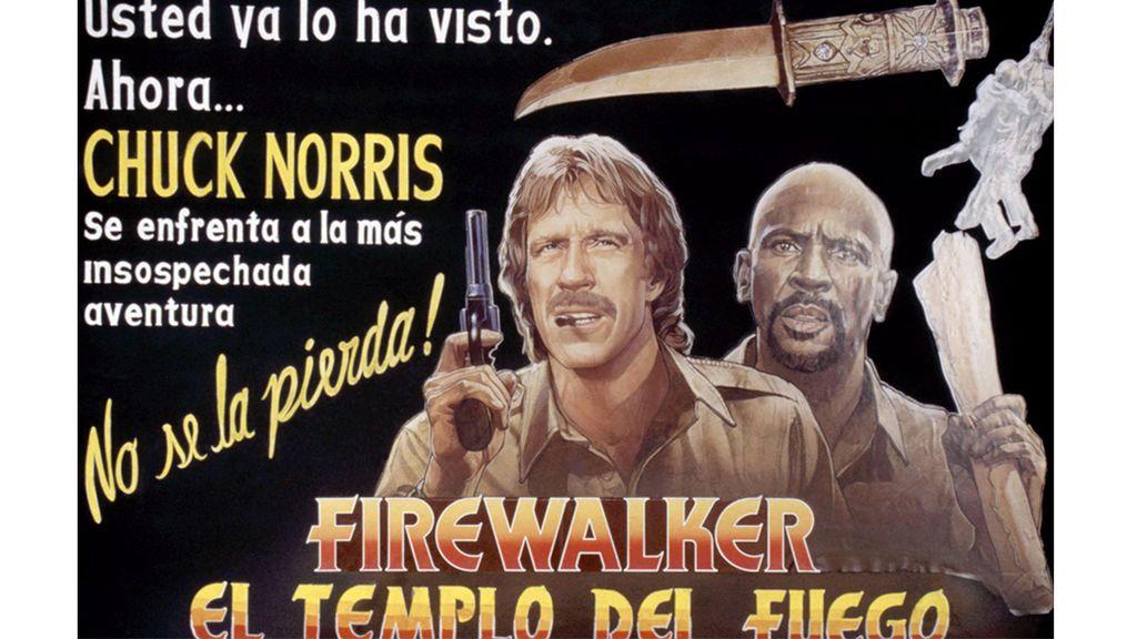 Póster de 'Firewalker' (1986)