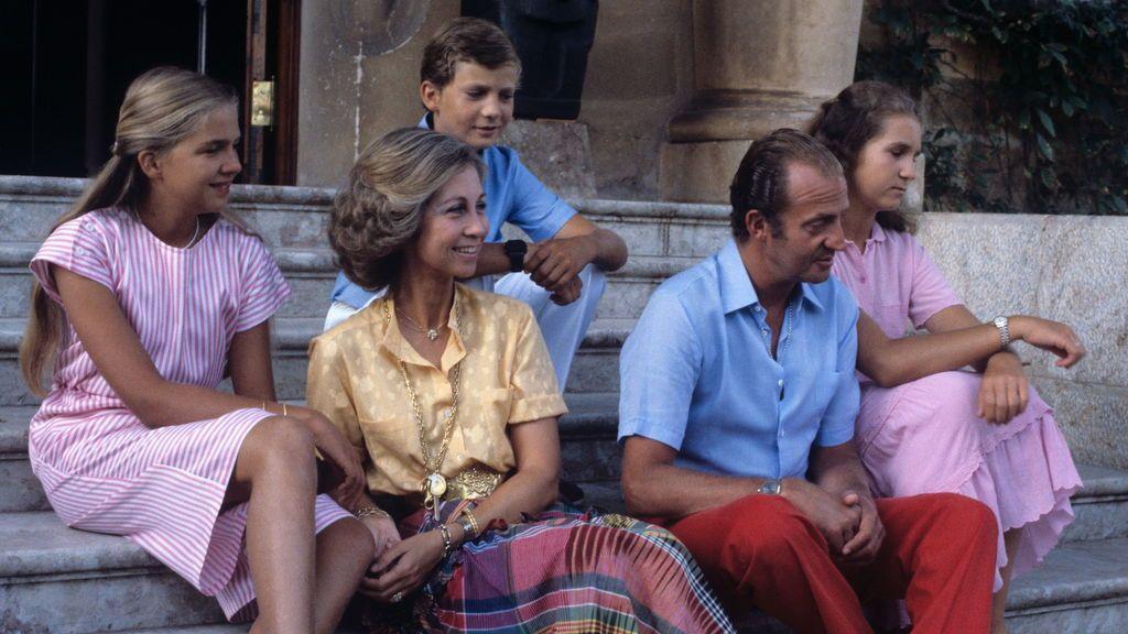 La familia real de vacaciones en Mallorca (1981)