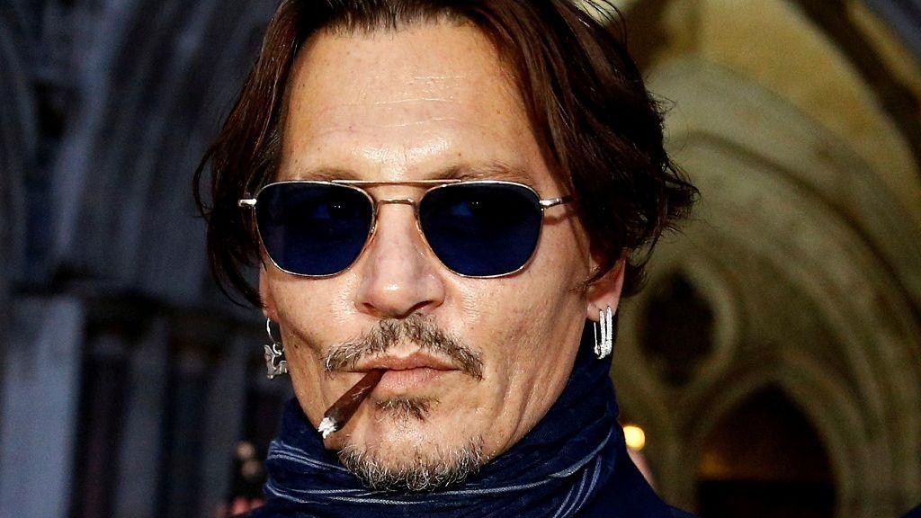 Johnny Depp, a su salida del juicio contra The Sun