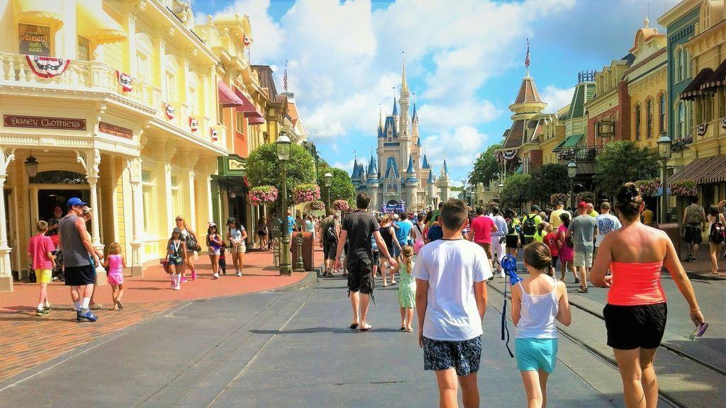 El parque temático Disney World de Orlando