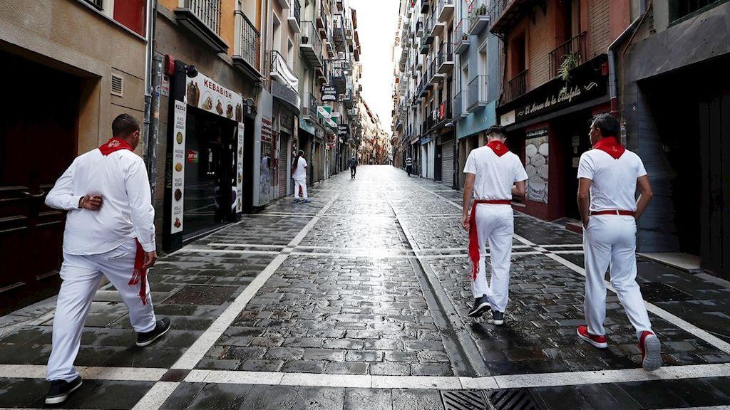 Pamplona registra un brote con ocho contagios relacionado con un almuerzo de Sanfermines
