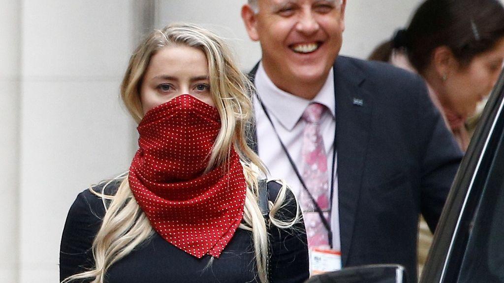 Amber Heard, en su juicio contra Johnny Depp
