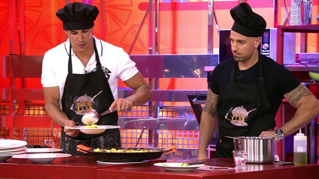 La tensa cena de Rafa Mora y Kiko Jiménez La última cena Temporada 1 Programa 8