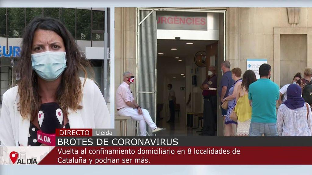 Decretan el confinamiento parcial de toda la provincia de Lleida: nuevas restricciones y prohibiciones