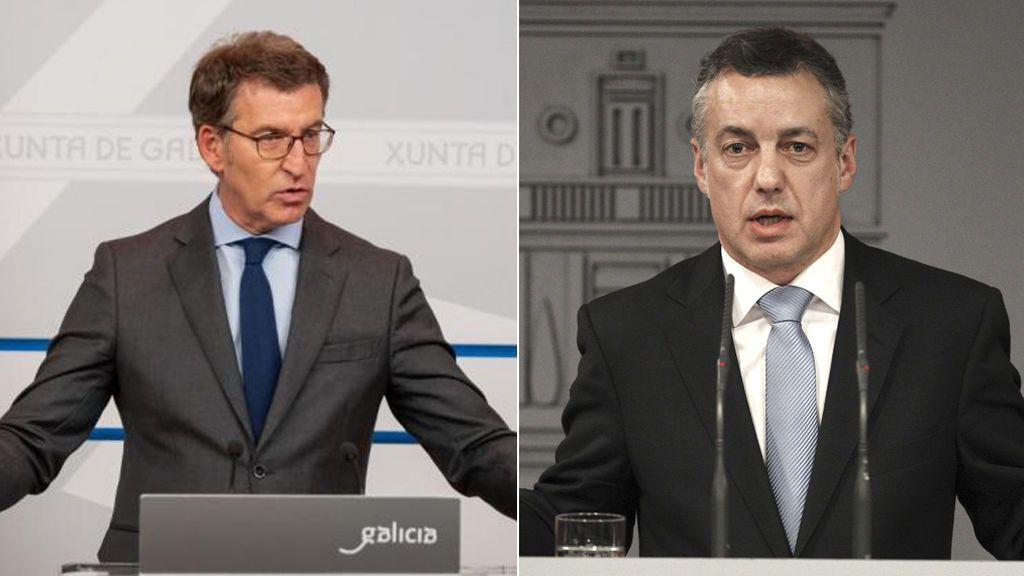 Minuto a minuto de la noche electoral en Galicia y País Vasco: Feijóo logra la mayoría absoluta y Urkullu necesitaría el apoyo del PSE , según los primeros datos del escrutinio