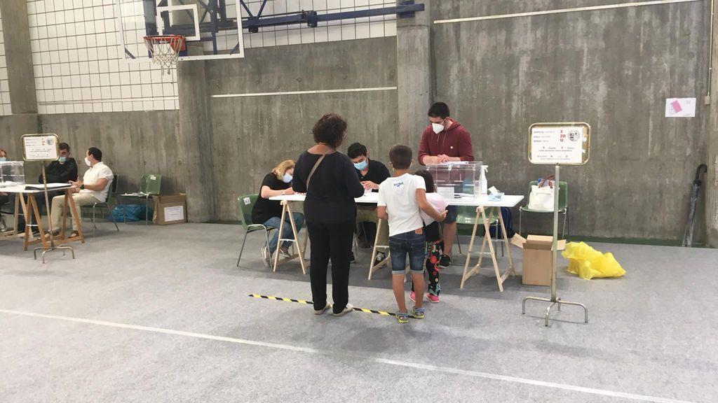 Participación en País Vasco a las 18.00