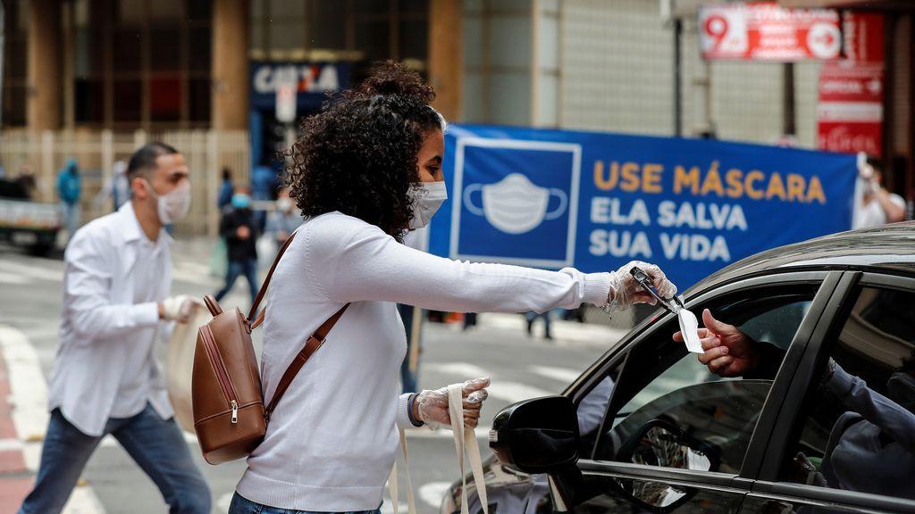 Brasil bordea los 1,9 millones de casos y supera las 72.000 víctimas por la pandemia