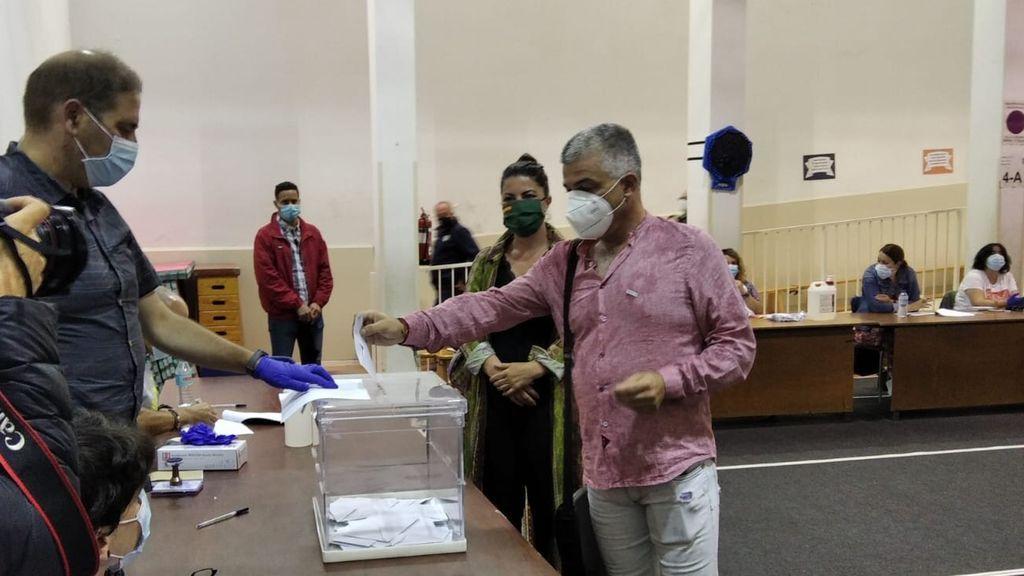 El candidato de Vox por Vizcaya,Nico Gutiérrez