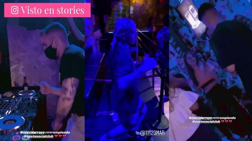 Los stories de Ester Expósito y Alejandro Speitzer desde una discoteca madrileña