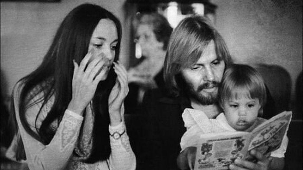 Fue en 1973 cuando tuvieron a su primer hijo, James Haven. Luego, llegaría Angelina Jolie.
