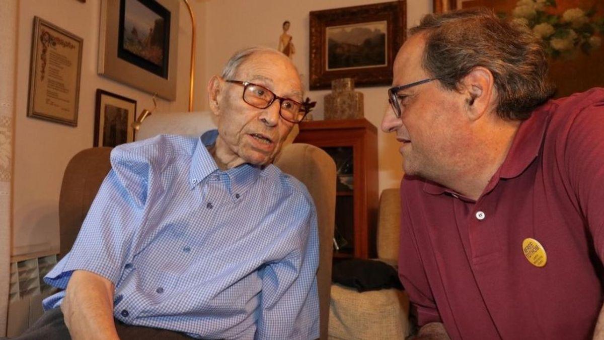 Muere el hombre en Girona el hombre más longevo de España a los 110 años