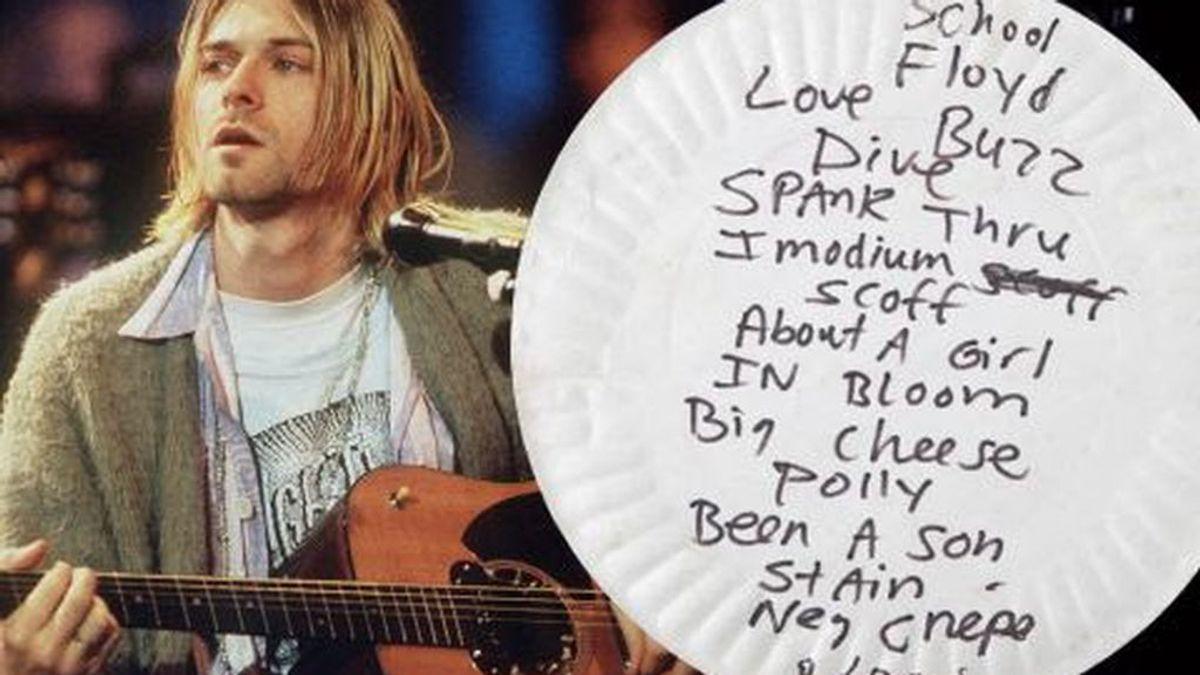 Del piano de cola de Elvis a un plato en el que comió Kurt Cobain: los objetos más caros la historia del rock