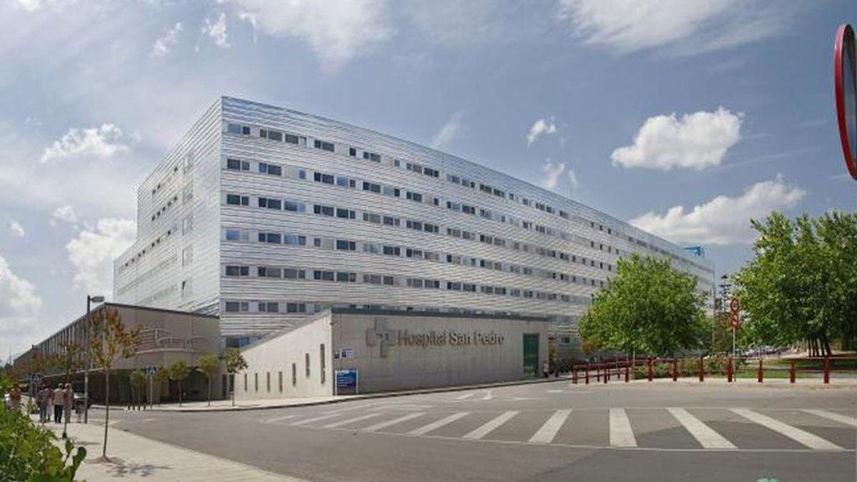 Detectan un brote de coronavirus en el Hospital de San Pedro de Logroño