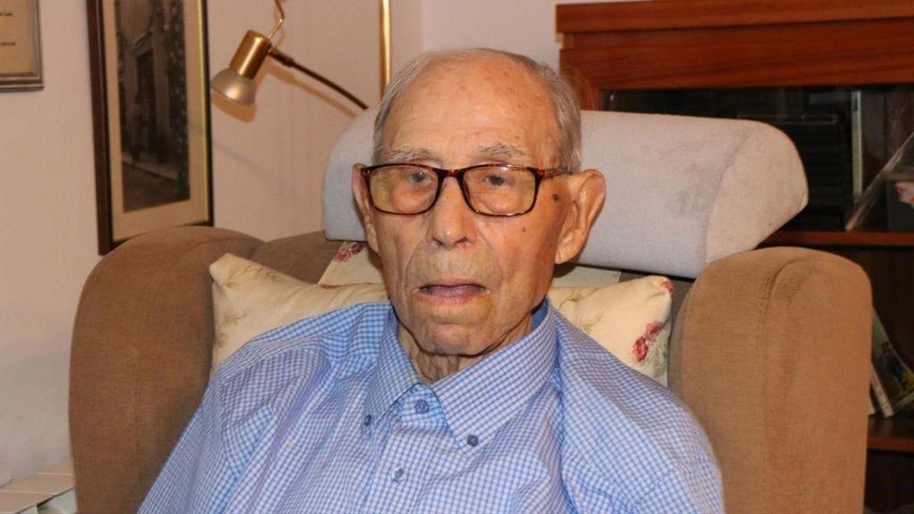 Muere a los 110 años el hombre más viejo de España