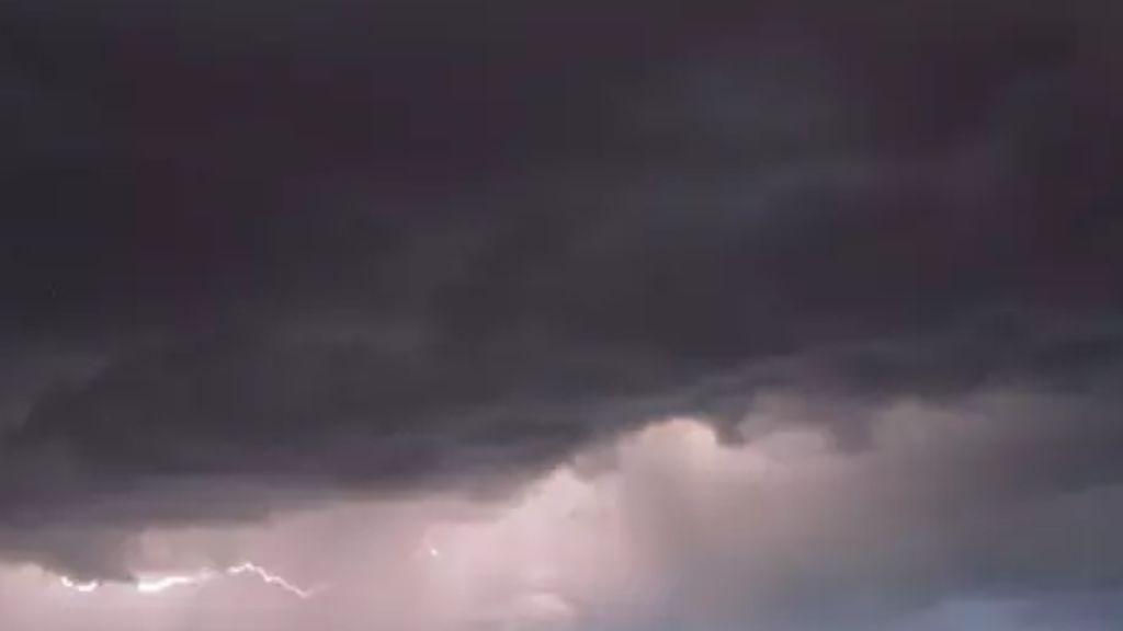 Las tormentas de tarde se van a convertir en una rutina en las próximas semanas