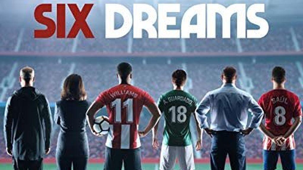 portada de la serie Six Dreams sobre fútbol