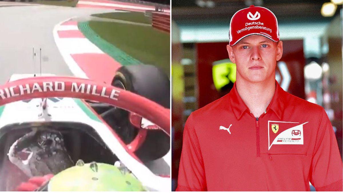 Mick Schumacher tiene que abandonar el GP de Austria al abrirse el extintor de su coche en plena carrera