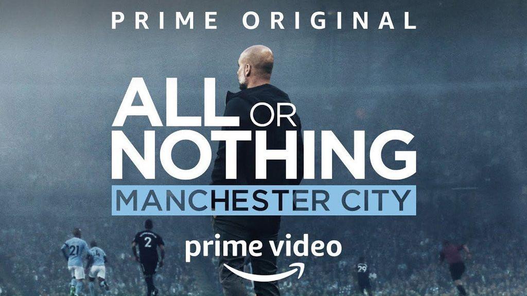 portada de la serie All or Nothing Manchester City