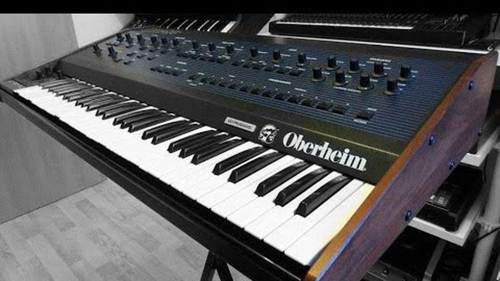Un sintetizador usado por Queen