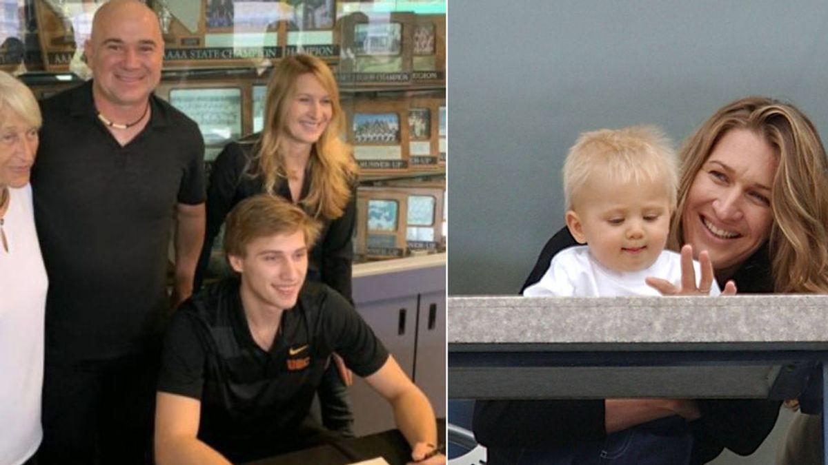 Sus padres suman más de 20 Grand Slam de tenis y él decide pasarse al béisbol: su nombre es Jaden Agassi Graft