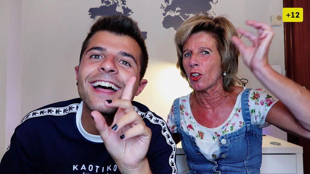 Ibán García reta a su madre y seguidores con el juego de la verdad (1/2)