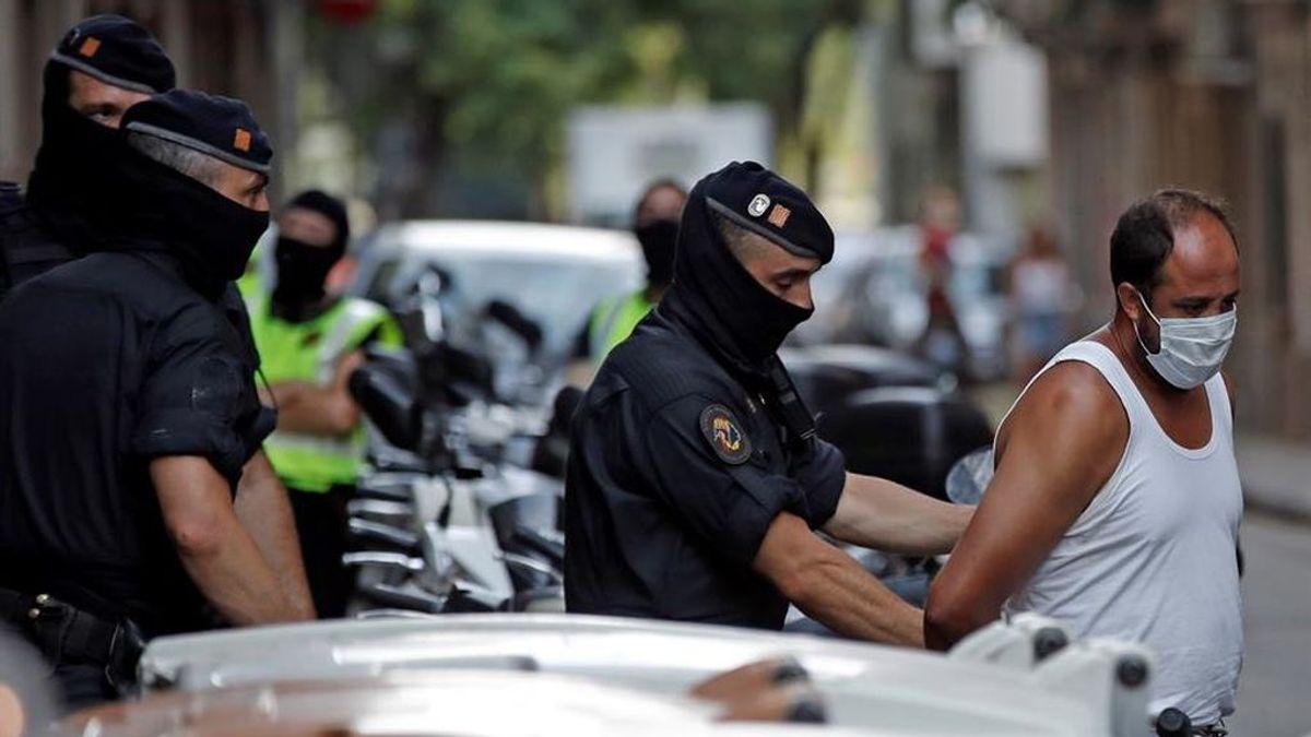 Operación contra el terrorismo yihadista en Barcelona:  Dos detenidos