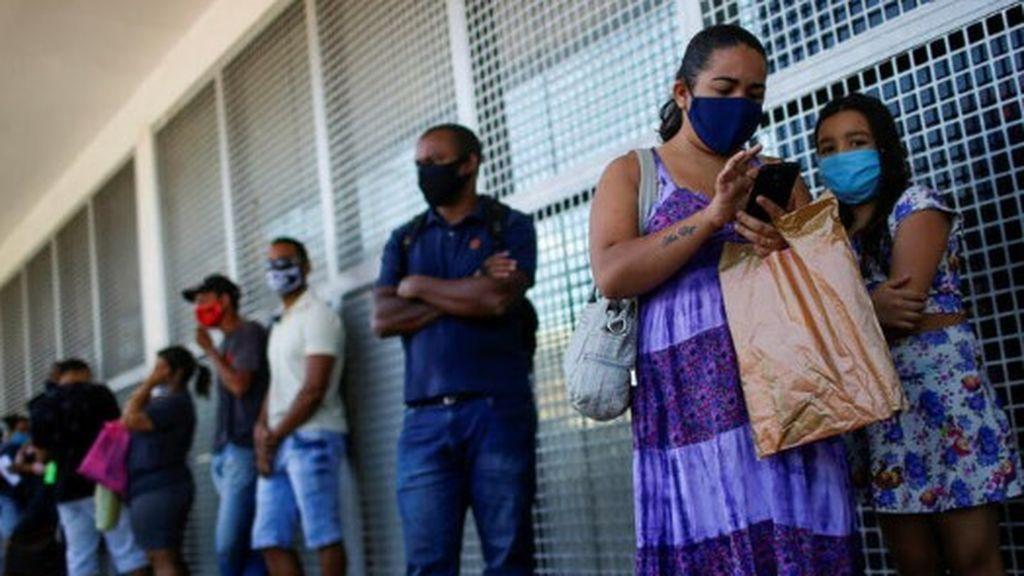 Brasil sufre la pandemia de Covid-19
