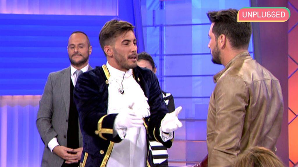 Manu Lombardo e Iván González