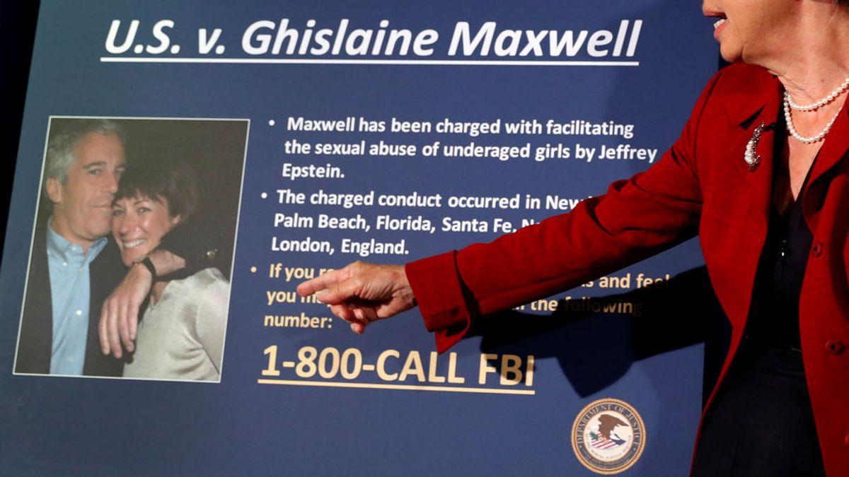 Ghislaine Maxwell se declara inocente de reclutar a menores de edad para Jeffrey Epstein