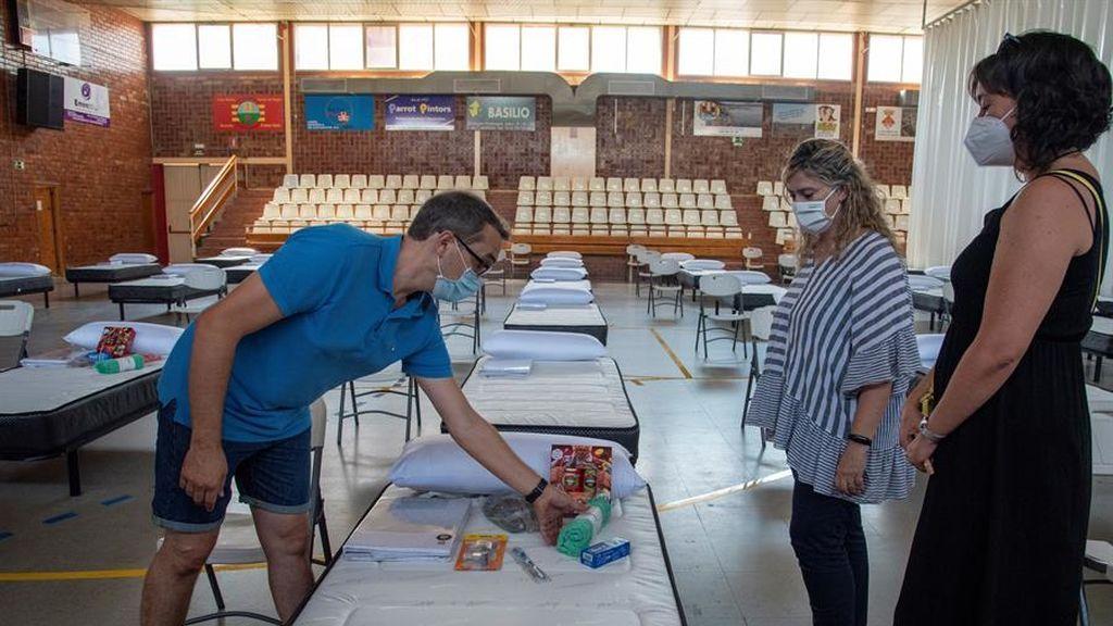 Preparan un polideportivo para acoger a temporeros con coronavirus en el Baix Segrià