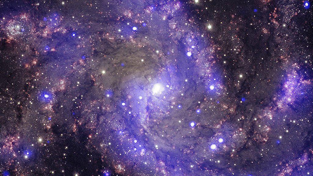 Hallan un 'muro' de galaxias que se extiende por todo el Universo