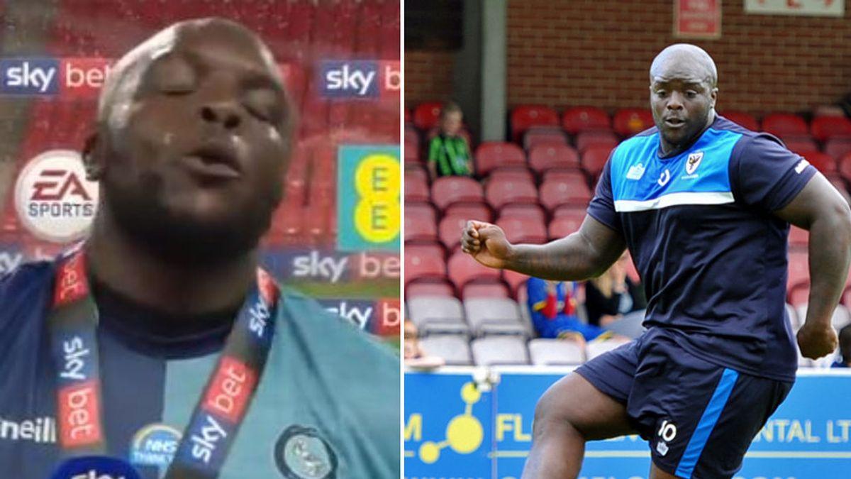"""Akinfewa celebra el ascenso del Wycombe a Championship dando una lección a sus haters: """"Sólo son opiniones"""""""
