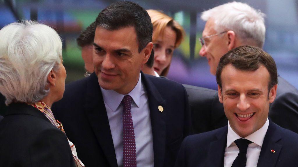 Sánchez alargará su gira europea almorzando el miércoles con Macron en París