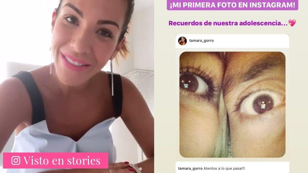 Tamara Gorro recupera su primera publicación en Instagram