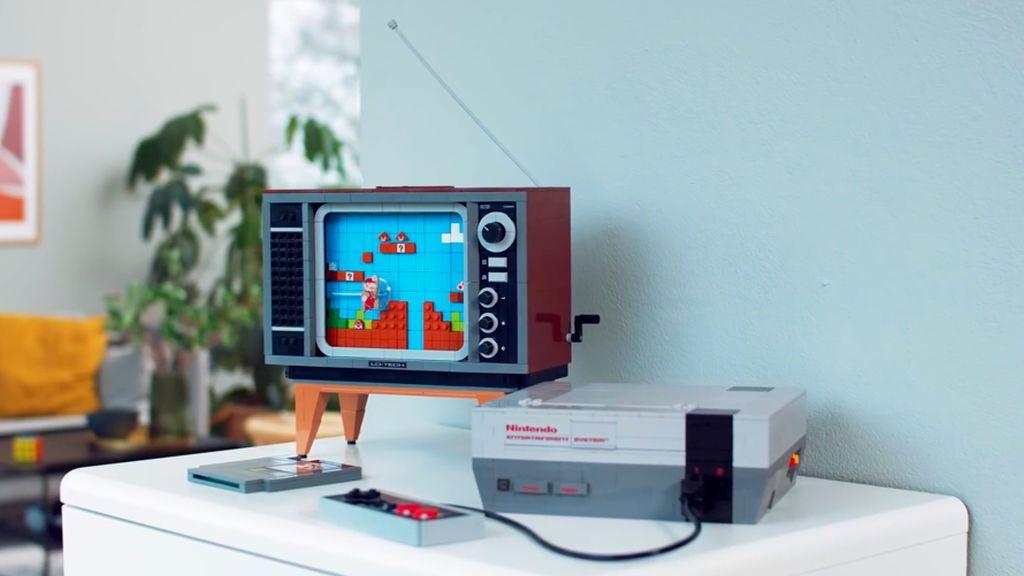 Llega la NES clásica hecha con piezas de Lego