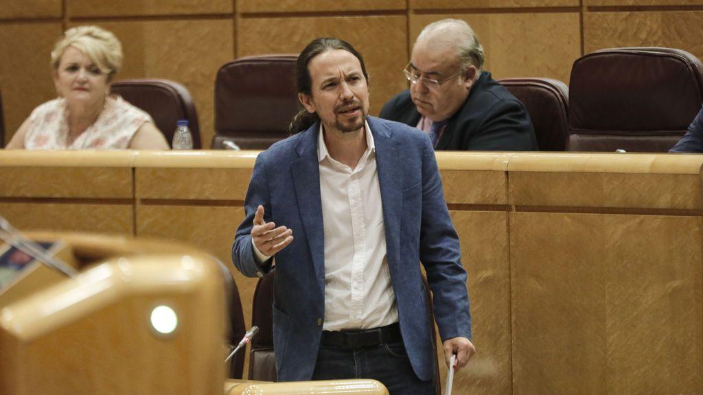 Pablo Iglesias responde al PP sobre el 'caso Dina'