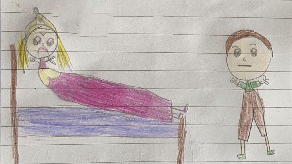 """El final de 'La bella durmiente' de una niña de 6 años: """"No hay que besar a nadie sin su consentimiento"""""""