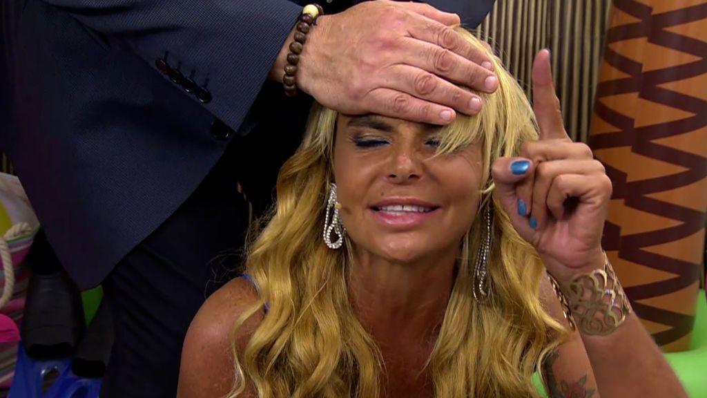 La hipnosis de Leticia Sabater en 2017