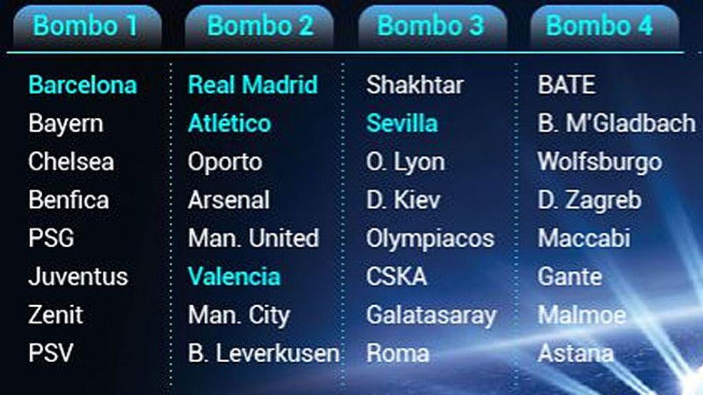 Champions bombos