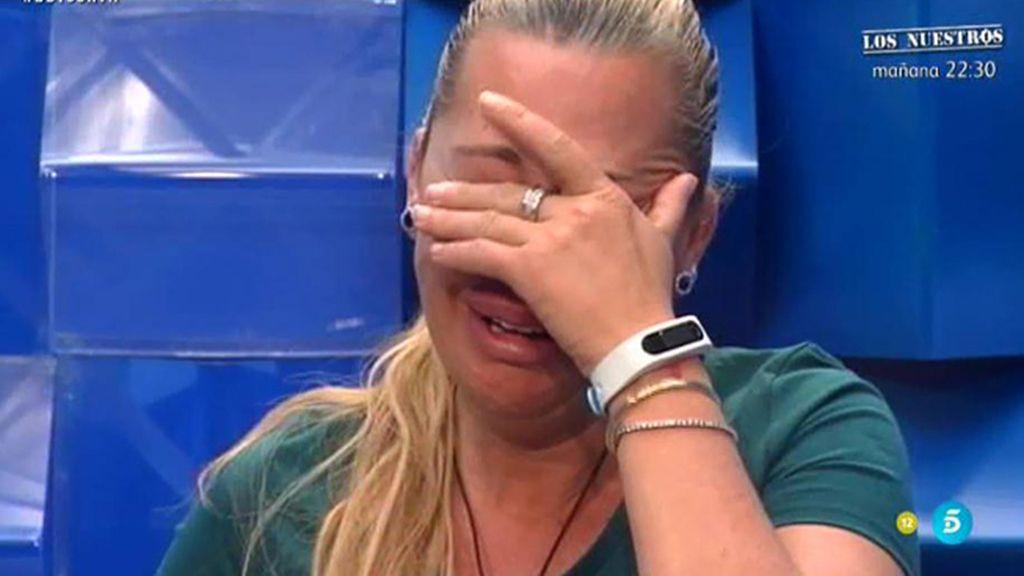 """Belén Esteban: """"Estoy desesperada, ya llevo mucho tiempo sin ver a los míos"""""""