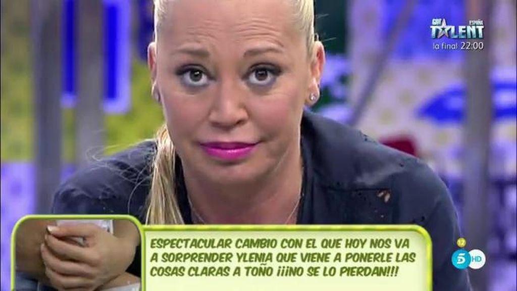 """Belén Esteban, a Toño Sanchís: """"Con la que tienes encima, no deberías estar tan feliz"""""""