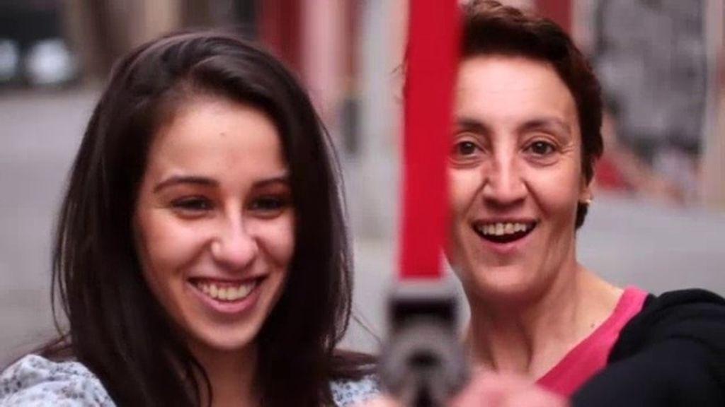 Paula y Luisa, la jugadora de Poker y su madre
